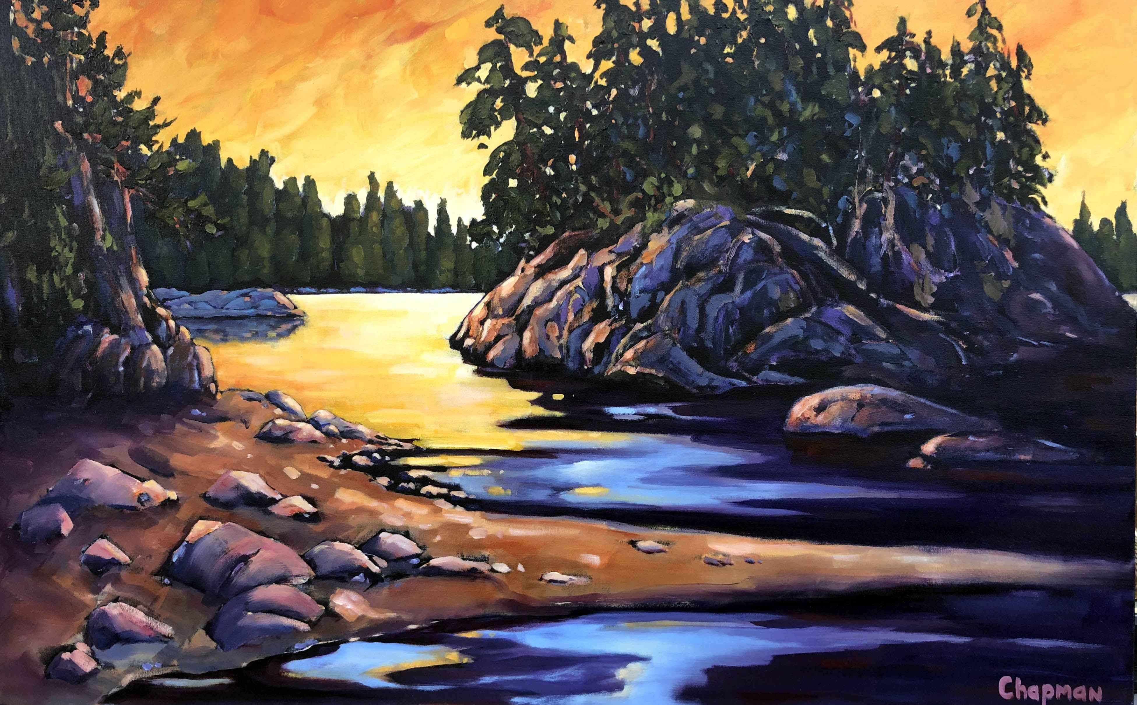 Receding Tide by  Sandra Chapman - Masterpiece Online
