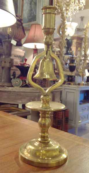 Brass Bell Candle Sti... by   English - Masterpiece Online