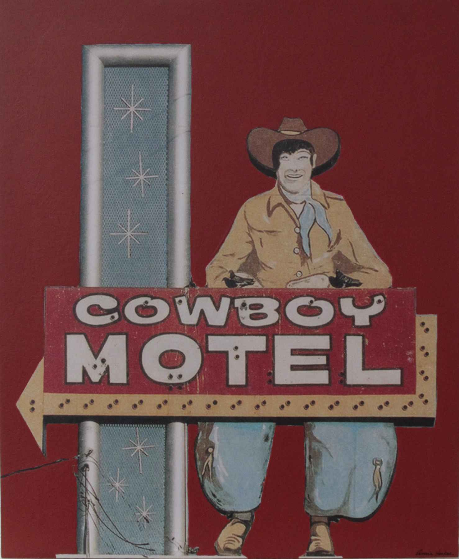 The Cowboy Motel (Red...  by  Annie Hooker