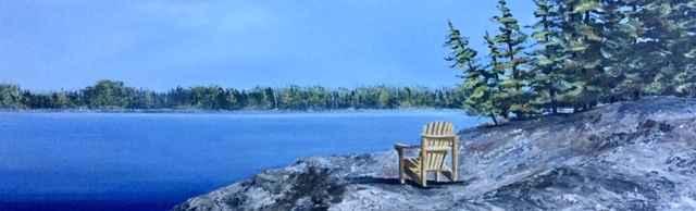 Cottage Point Of View by  Janet Liesemer - Masterpiece Online
