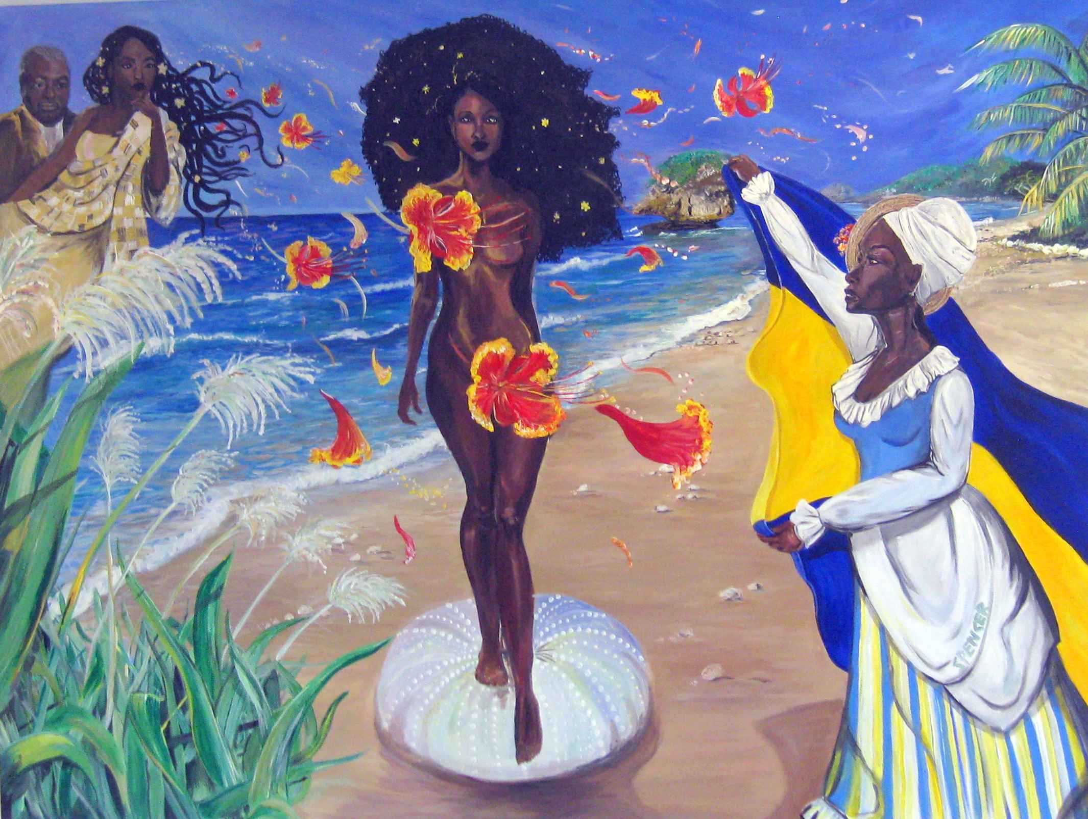 Barbados In Bloom by  Shara Spencer - Masterpiece Online