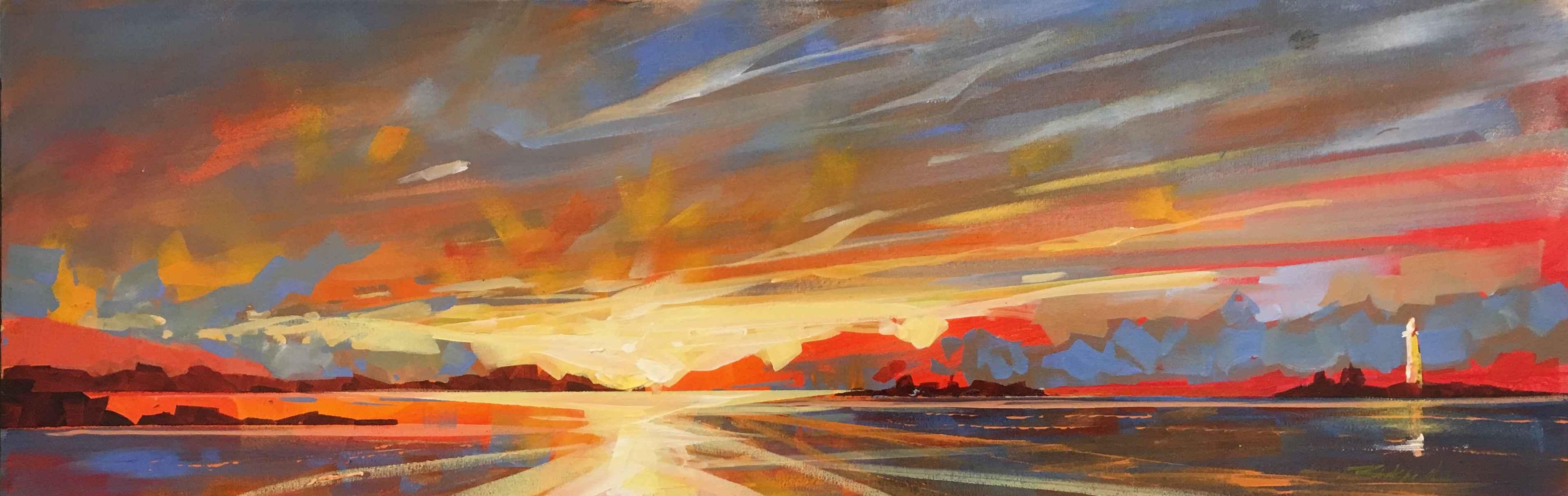 Lighthouse Sunset by  Brian Buckrell - Masterpiece Online