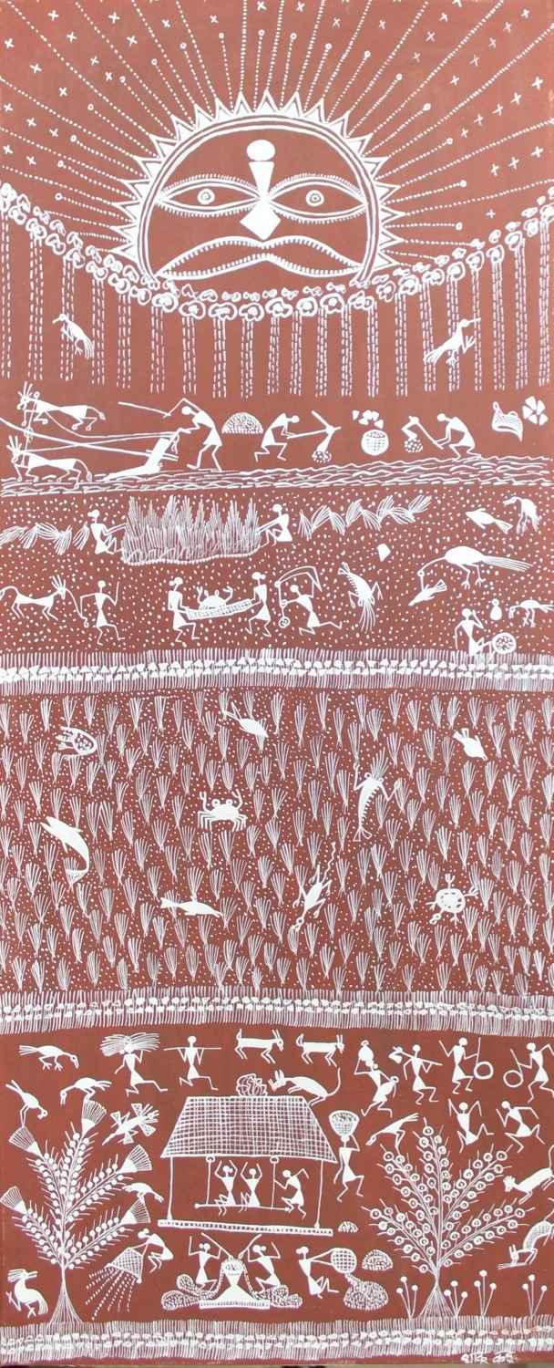 Riz, travaux des cham... by  WARLI ART - Masterpiece Online