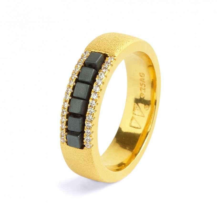 Alana Hematine Ring by  Bernd Wolf - Masterpiece Online