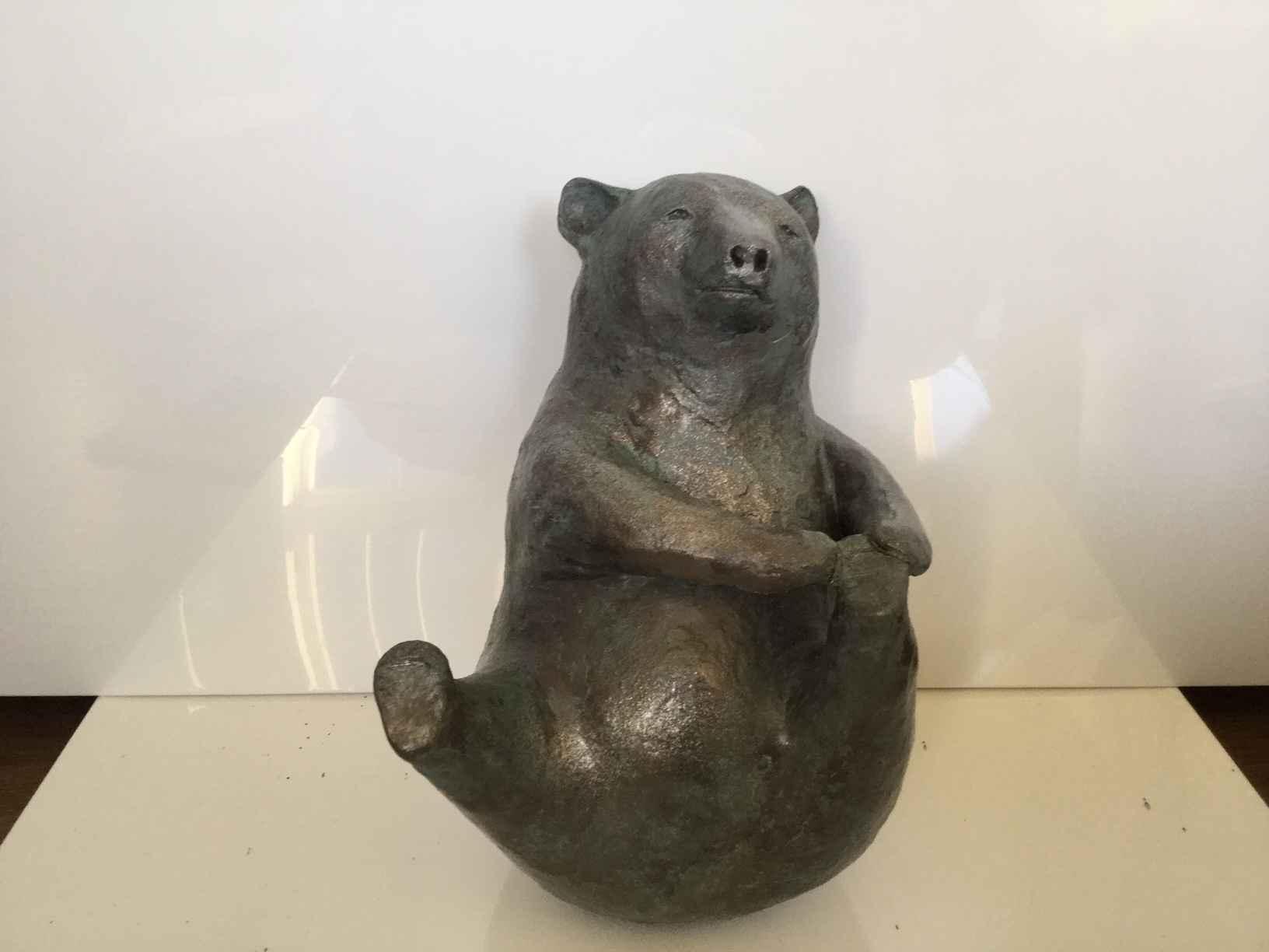 Yoga Stretch Bear by  Karin Taylor - Masterpiece Online