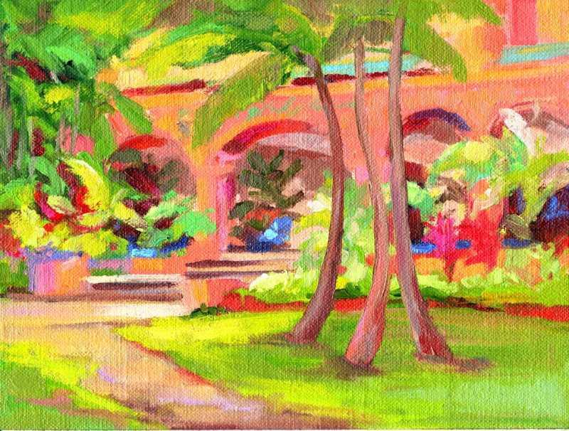 Royal Hawaiian Courty... by  Kristen Olson - Masterpiece Online