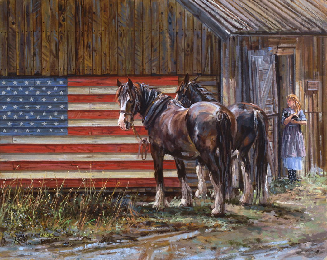 Land Of The Free by  Barbara Summers Edwards - Masterpiece Online