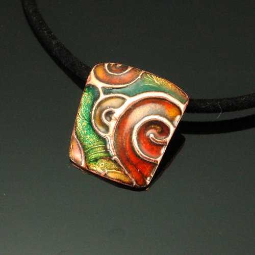 PRE1100 Copper Pendan... by  Pam East - Masterpiece Online