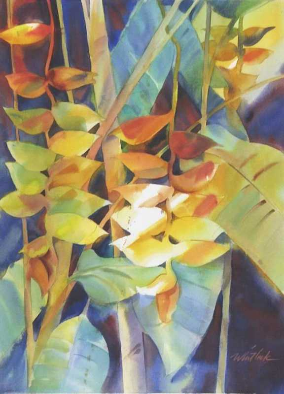 Heliconia by  Roger Whitlock - Masterpiece Online