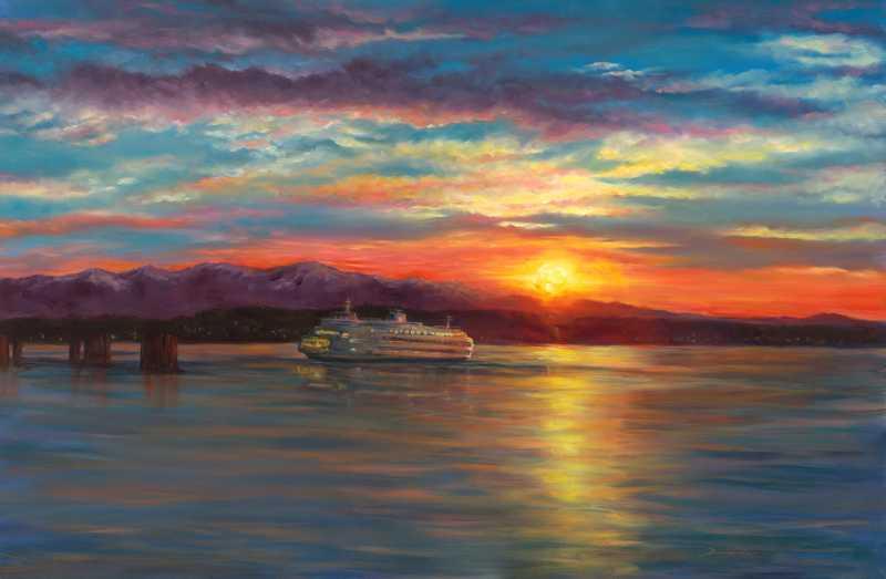 Evening Crossing