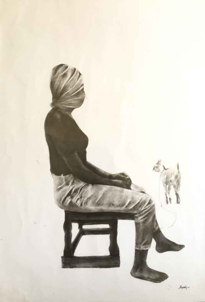 Untitled by  Lincoln Mwangi - Masterpiece Online