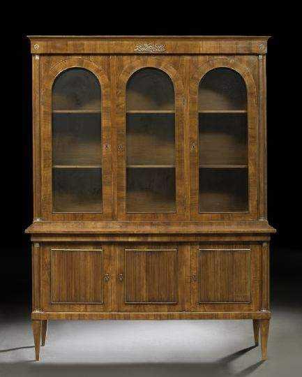 Mahogany Bookcase by  Italian  - Masterpiece Online