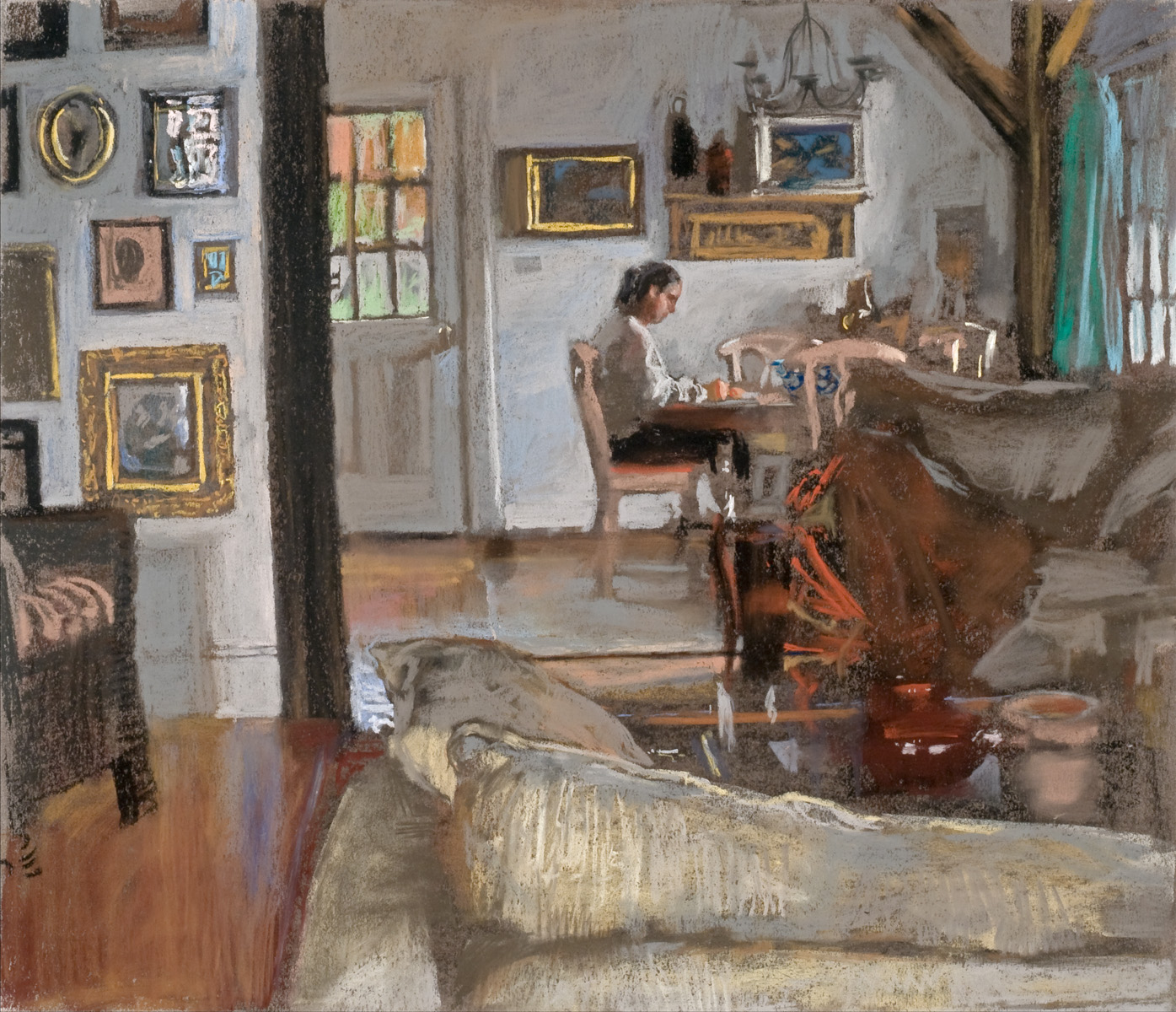 Melissa Writing Lette... by  Daud Akhriev - Masterpiece Online