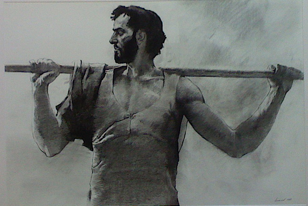 Study of a Disciple by  Daud Akhriev - Masterpiece Online