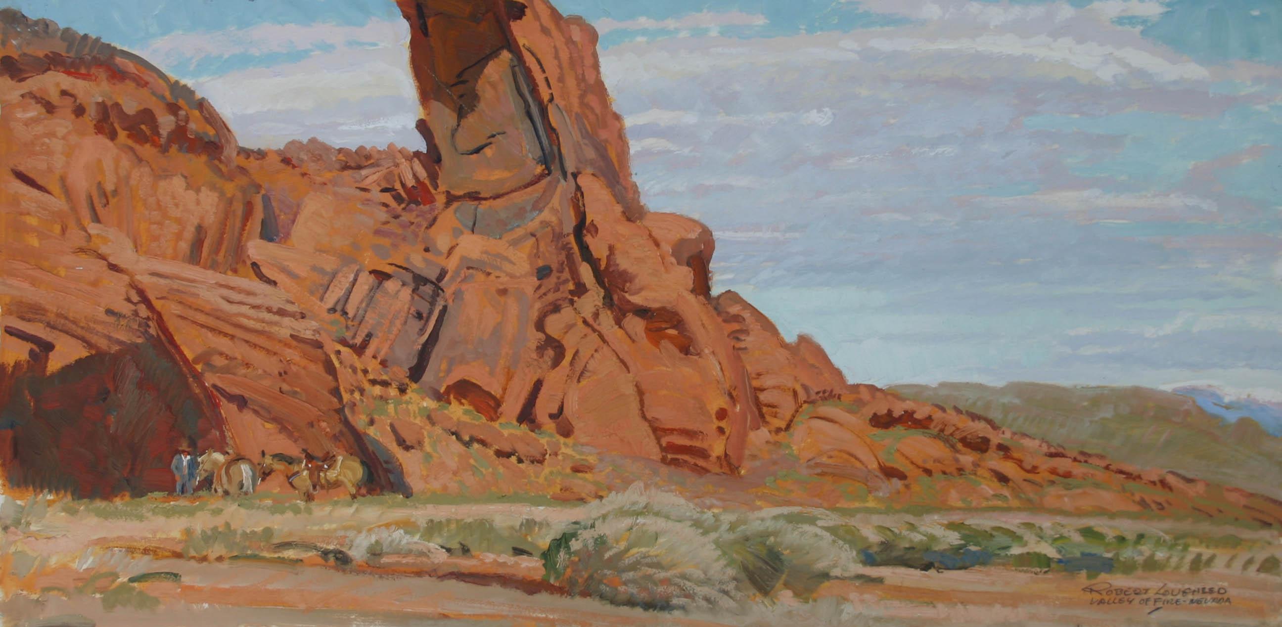 Nevada - Valley of Ho... by  Robert Lougheed - Masterpiece Online