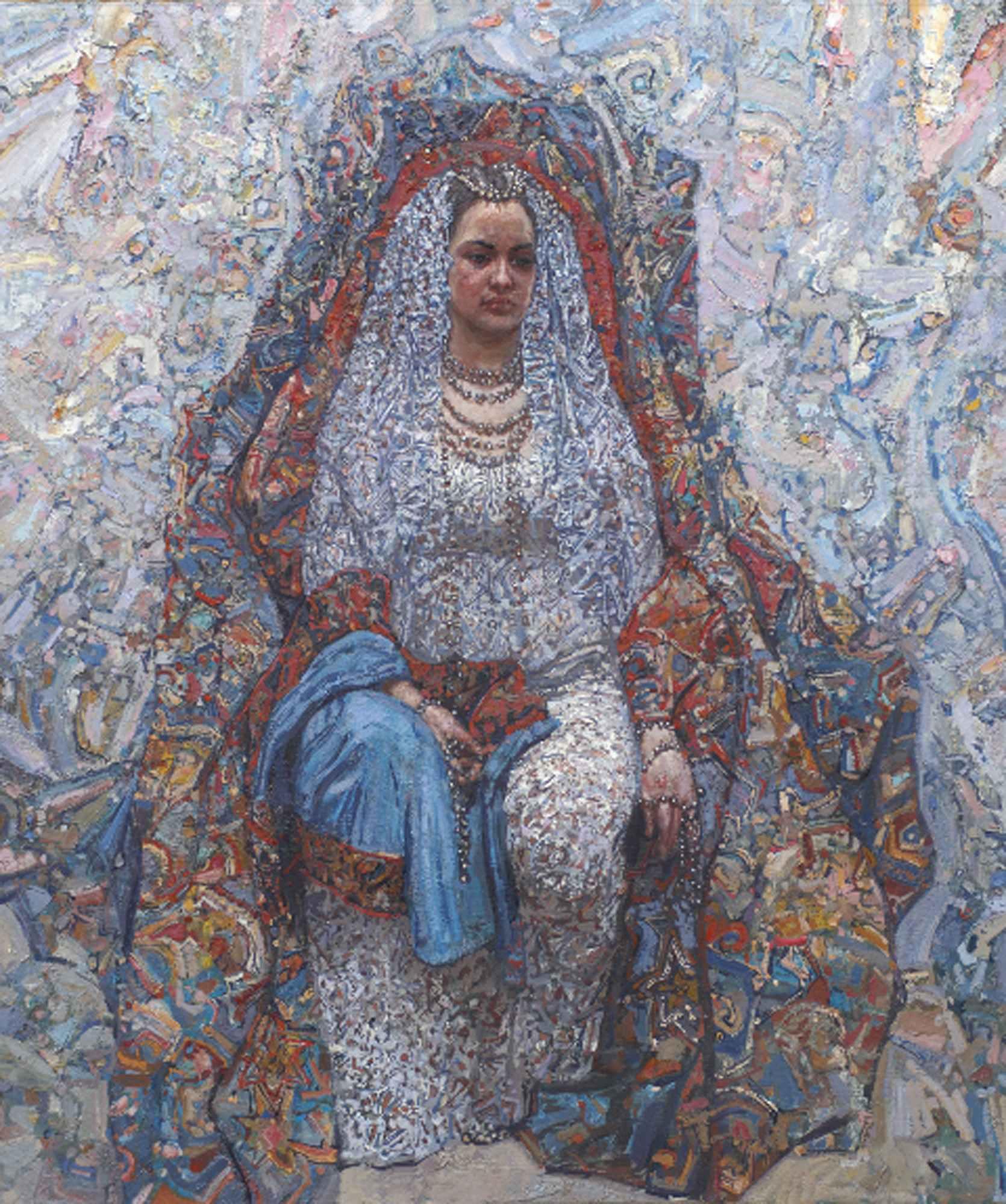 Bride by  Daud Akhriev - Masterpiece Online