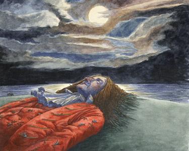 Gulliver On Beach by  Kimberly Bulcken-Root - Masterpiece Online