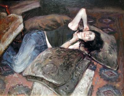 Suede Pillows by  Glenn Harrington - Masterpiece Online