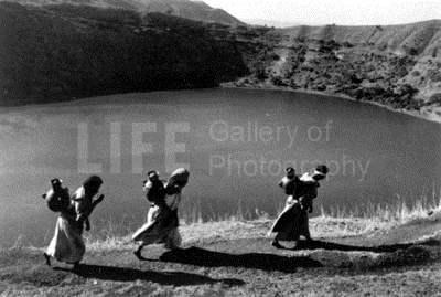 Women carrying water ... by  Alfred Eisenstaedt - Masterpiece Online