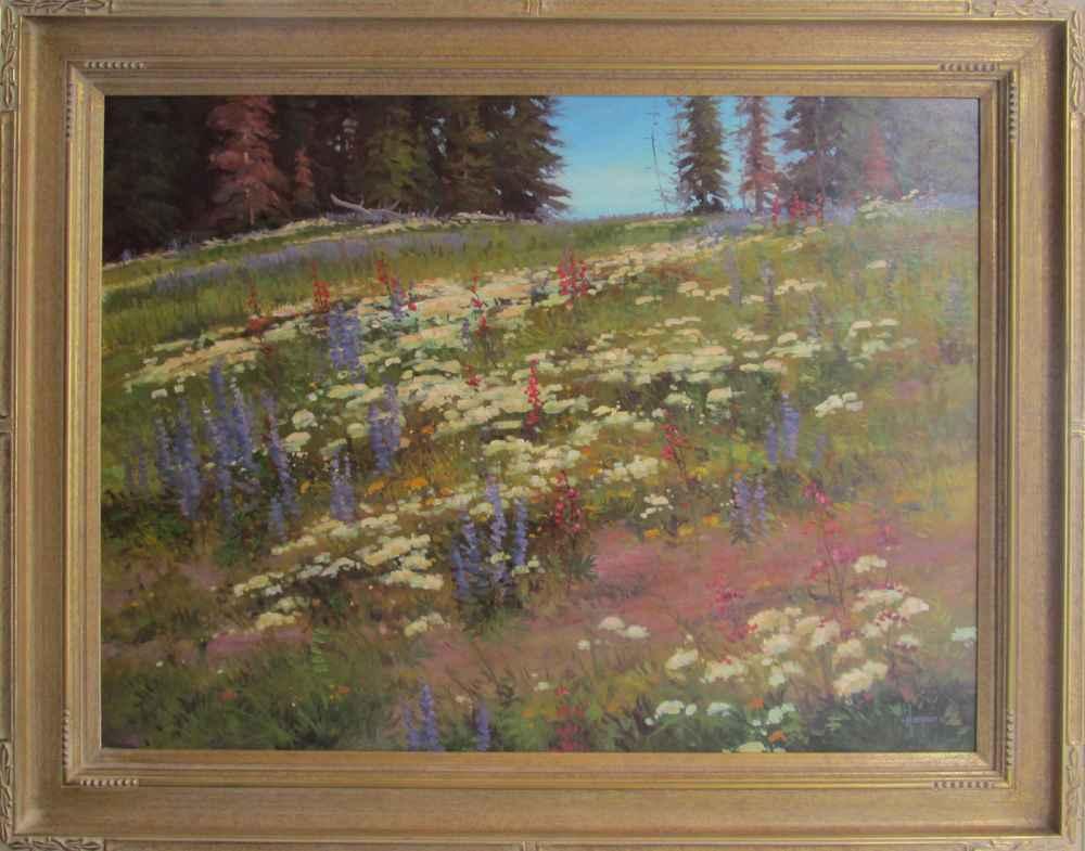 Spring Wildflowers by  Robert Harper - Masterpiece Online