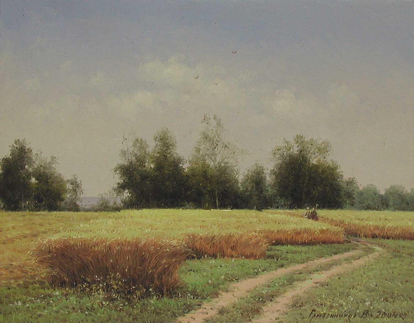 Harvest Time by  Vasily Gribennikov - Masterpiece Online