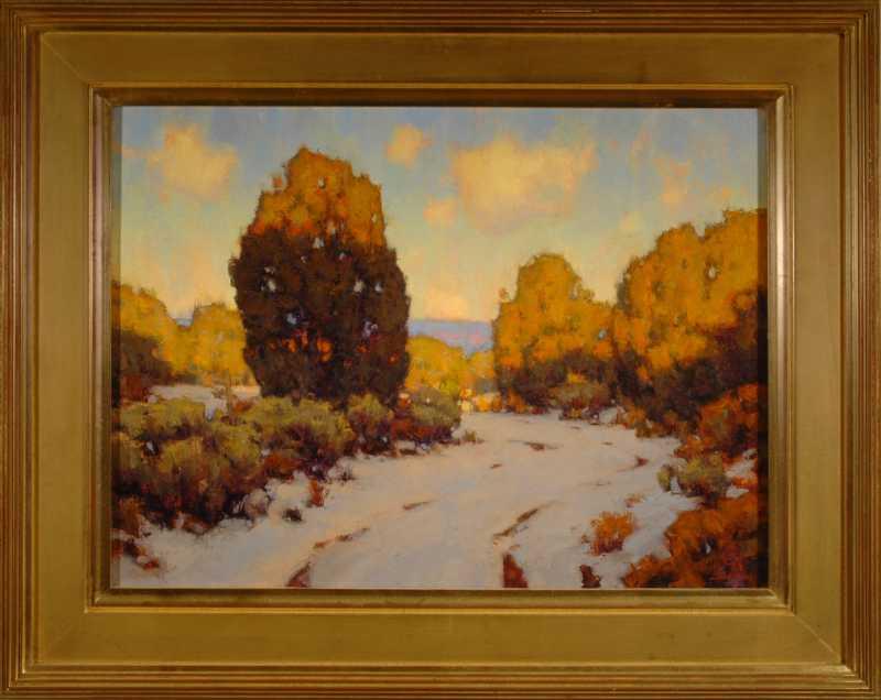 Winter Evening Shadows by  David Ballew - Masterpiece Online