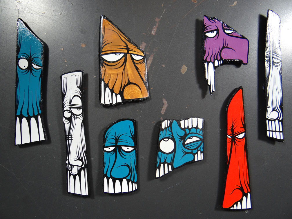 Face Magnets - Medium  by   IMAMess...
