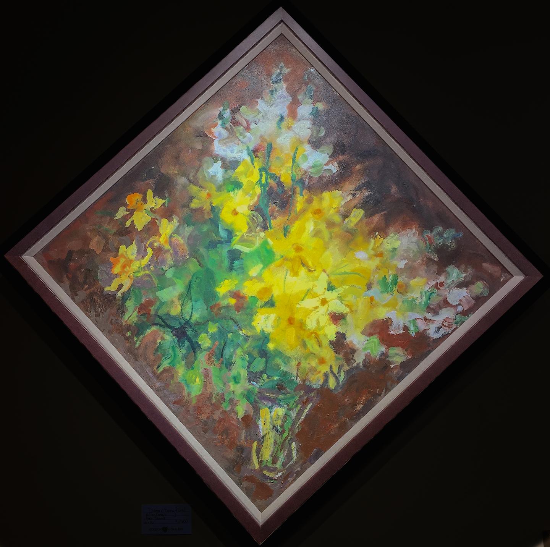 Diamond Spring Floral by  Adele Seronde - Masterpiece Online