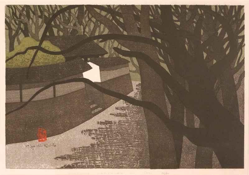 Enkakuji, Kamakura (C) by  Kiyoshi Saito - Masterpiece Online