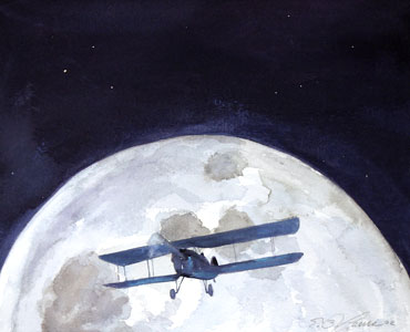 I Fly Into The Night by  E.B. Lewis - Masterpiece Online