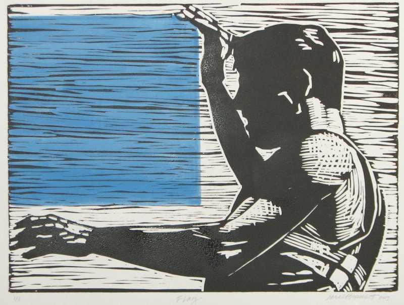 Flag Ed: 1/1 by  Carol Bennett - Masterpiece Online