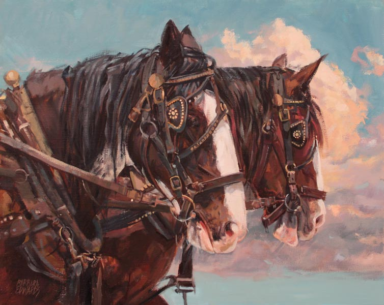 A NEW WORK- Matched ... by  Barbara Summers Edwards - Masterpiece Online