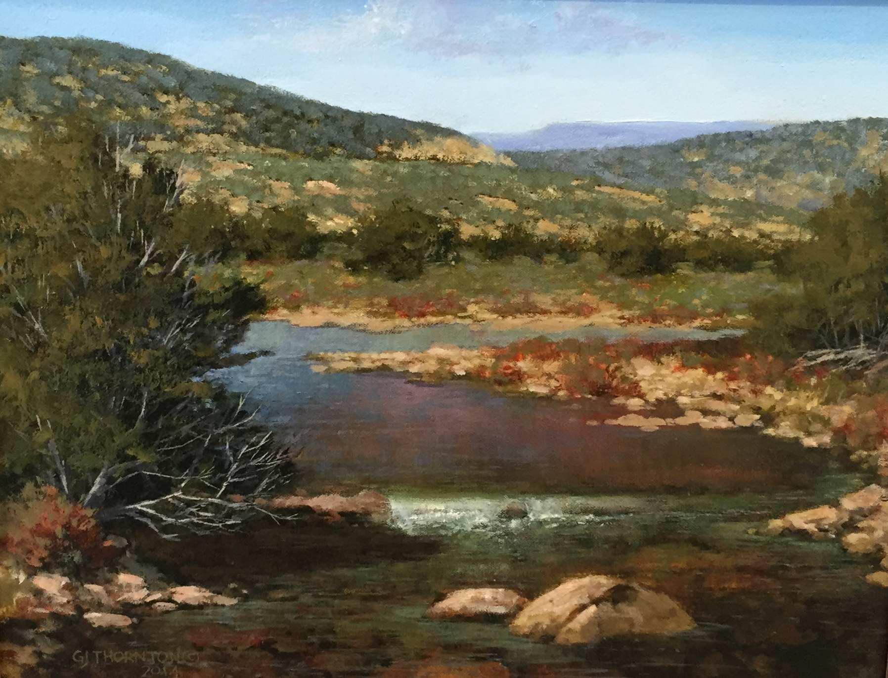 Distant Hills by Mr Gary Jack Thornton - Masterpiece Online