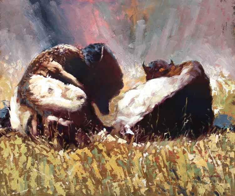 A NEW WORK- A Pair by  Glen Edwards - Masterpiece Online