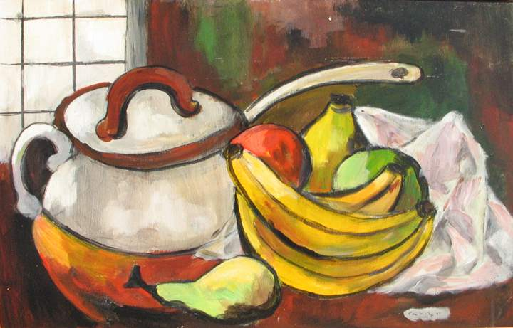 Still Life with Banan... by  Tom Maley - Masterpiece Online