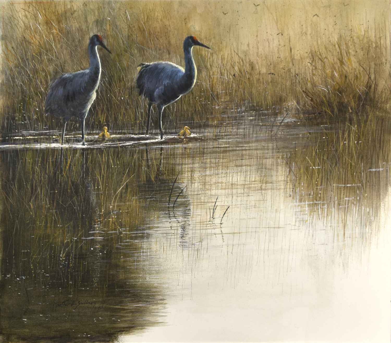 Late Afternoon by  Morten E. Solberg - Masterpiece Online
