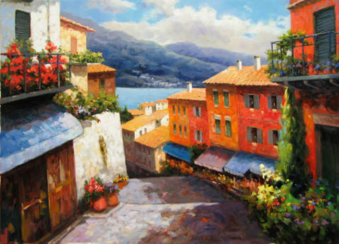 Beauty of Italy by  D. S.  Kim  - Masterpiece Online