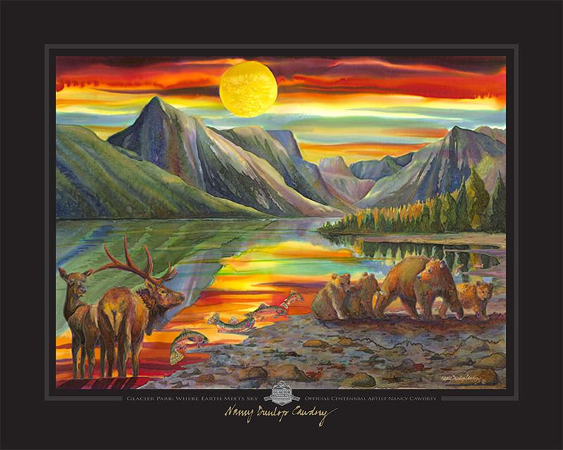 Glacier Park: Where E... by MS Nancy Dunlop Cawdrey - Masterpiece Online