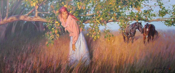 Prairie Autumn by Mrs. Terri Kelly Moyers - Masterpiece Online