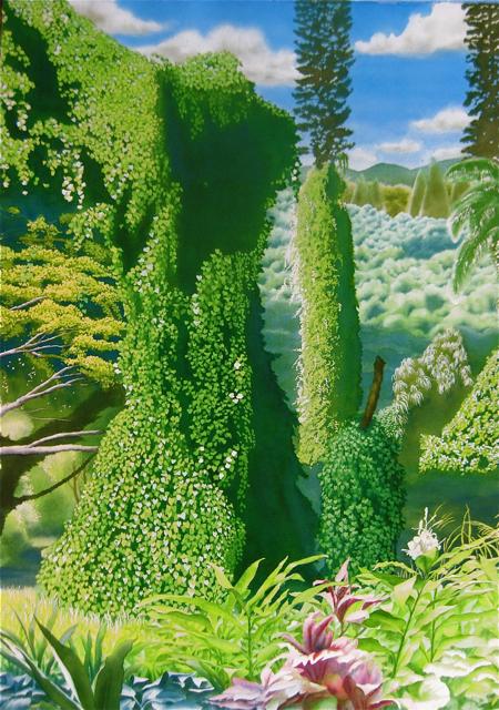 Manoa Rainforest XVII... by  Robert Benjamin Norris (1910-2006) - Masterpiece Online