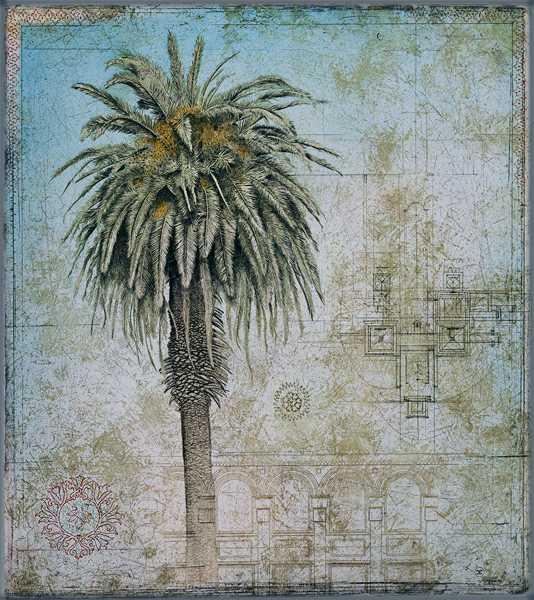 Royal Palm w/ Turkish... by  David Smith-Harrison - Masterpiece Online