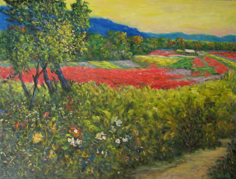 Into the Color Field by  Andres  Morillo - Masterpiece Online