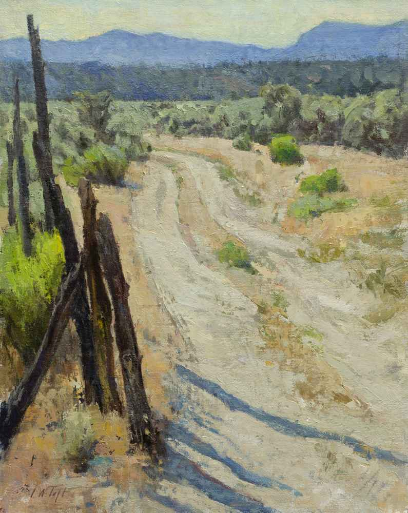 Dusty Road  by  John W Taft