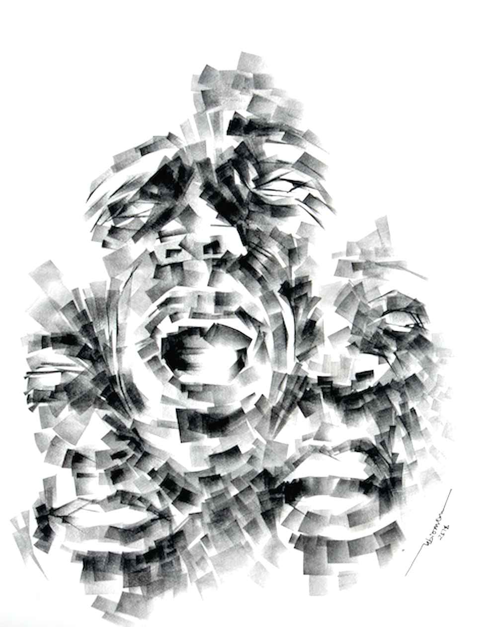 Faces IV by Mr Ubiomo Ogheneroh - Masterpiece Online