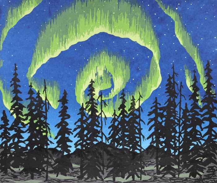 Northern Wonder by  Kathy Bonnema Leslie - Masterpiece Online