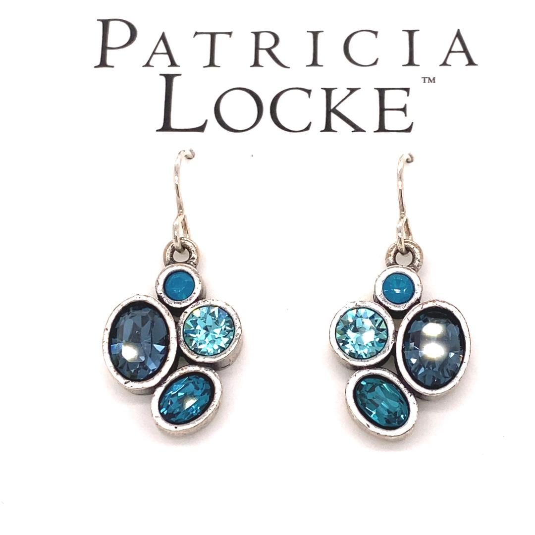 Mercy Earrings in Silver, Bermuda