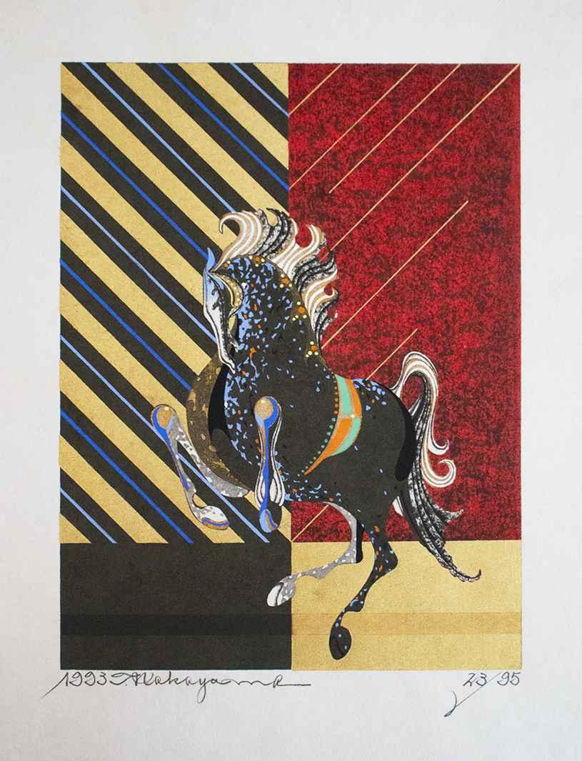 Swift Horse (B) by  Tadashi Nakayama - Masterpiece Online