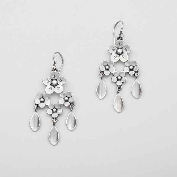 Girandole Earrings Sterling Silver