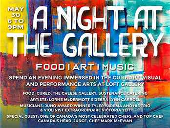 A Night At The Gallery by    - Masterpiece Online