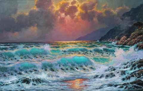 California Coast Dream by  A Dzigurski II - Masterpiece Online